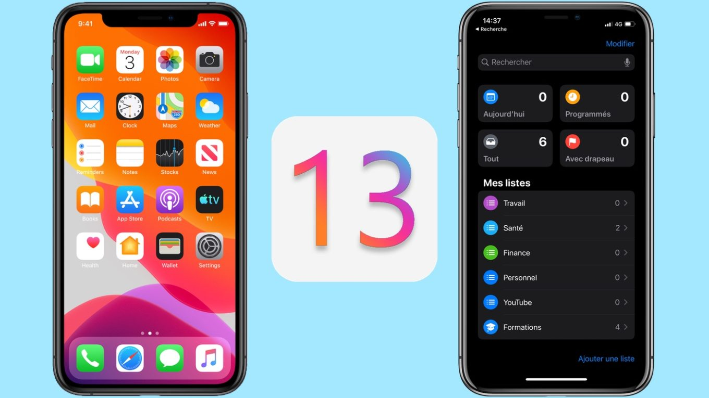 espion iphone iOS 13